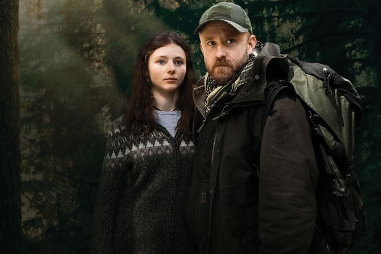 Ben Foster and woman posing for a picture