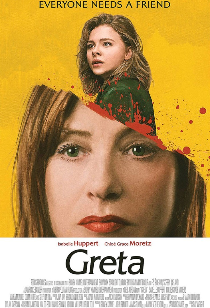 Chloe Grace Moretz with a girl's face on the head