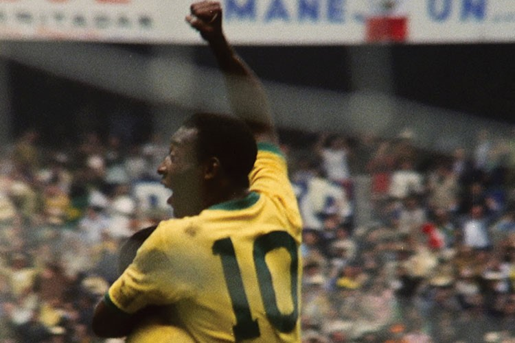 a man in a yellow jersey