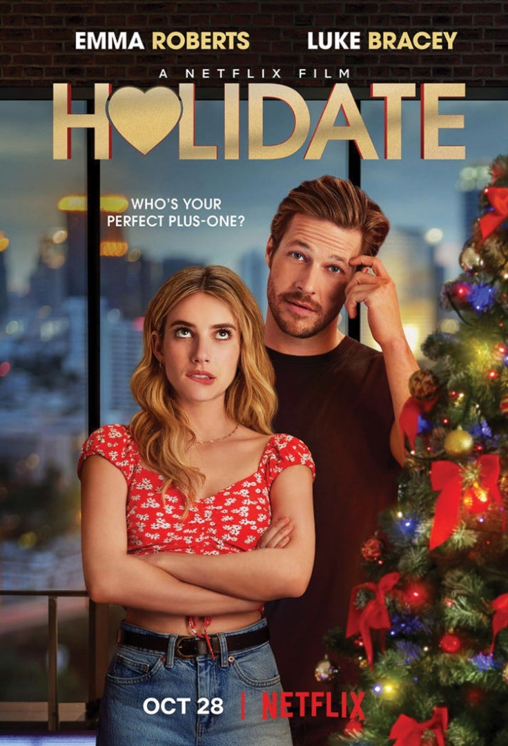 Luke Bracey, Emma Roberts are posing for a picture