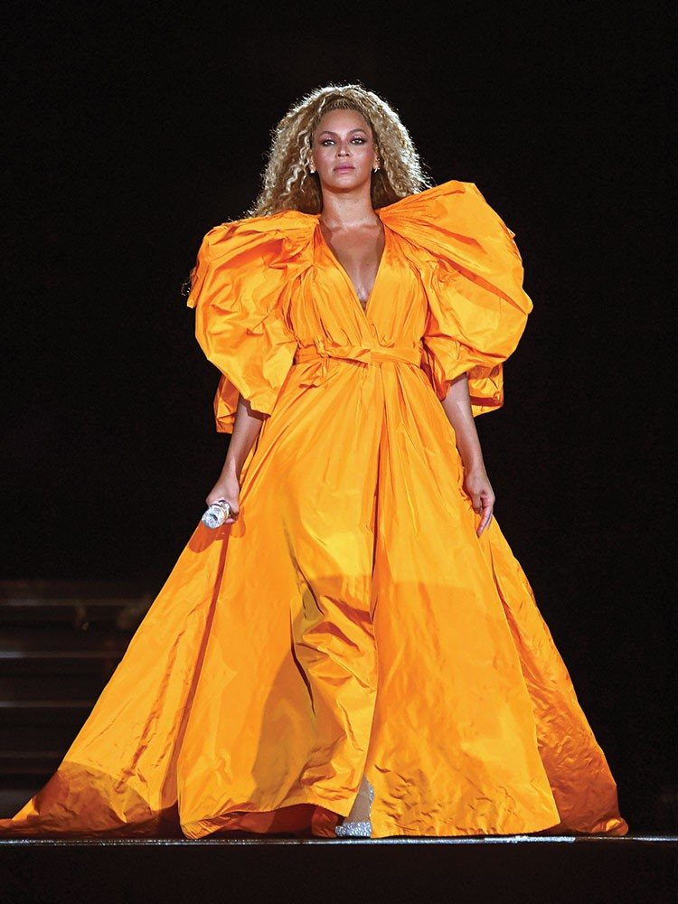 Beyonce in a dress