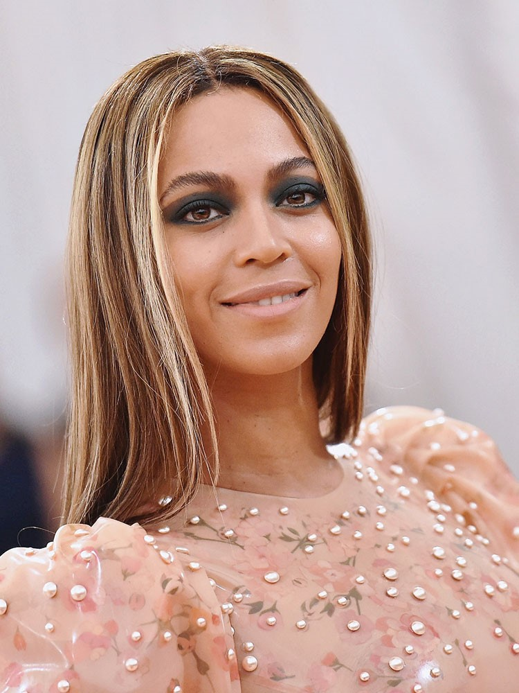 Beyonce with long hair