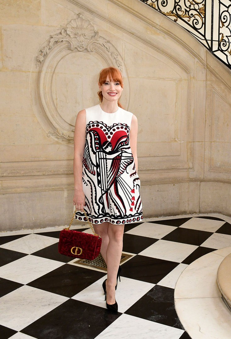 Jessica Chastain in a dress