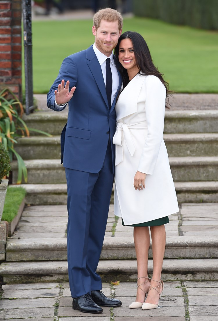 Prince Harry, Meghan Markle are posing for a picture