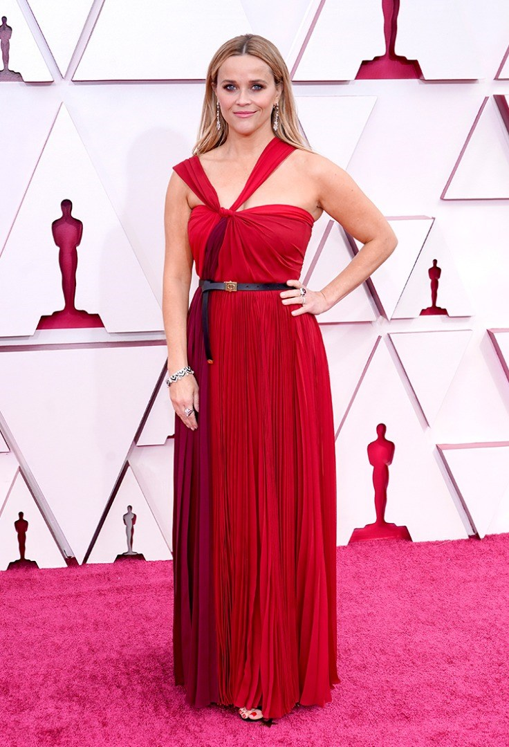 Reese Witherspoon in a red dress