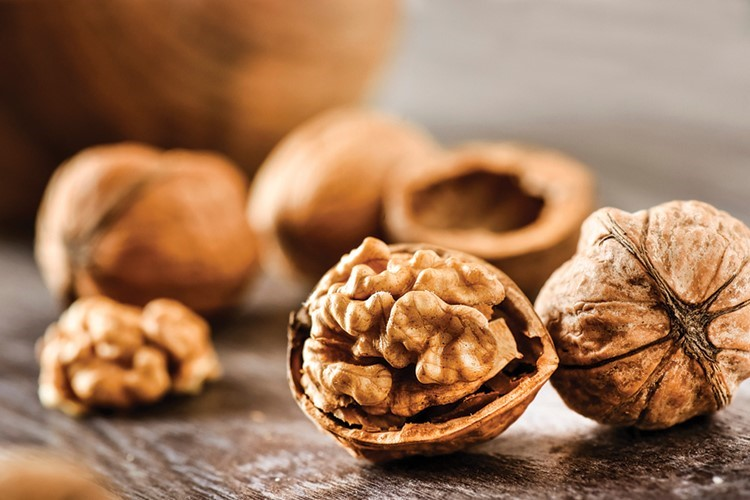 a group of nuts