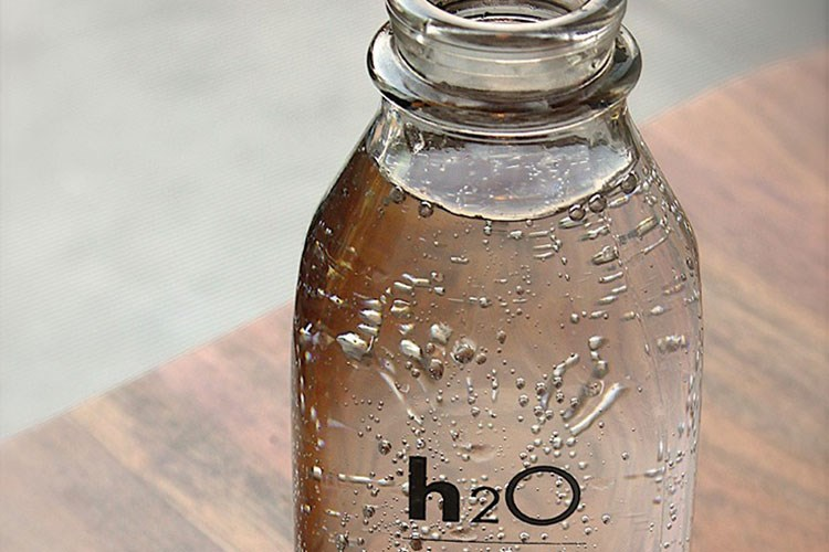 a glass jar with a clear lid