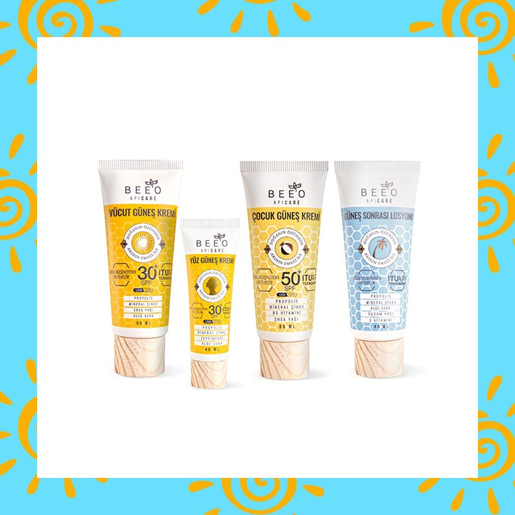 a group of different types of sunscreens
