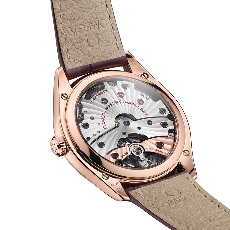 a watch with a leather strap