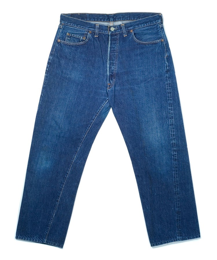 a pair of blue jeans