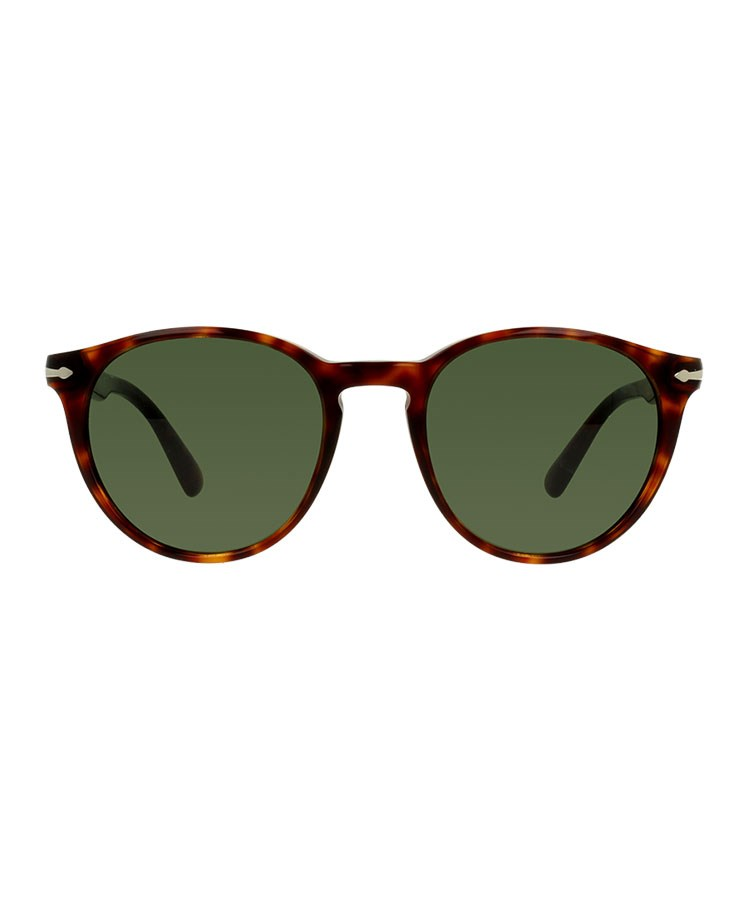 a pair of red sunglasses
