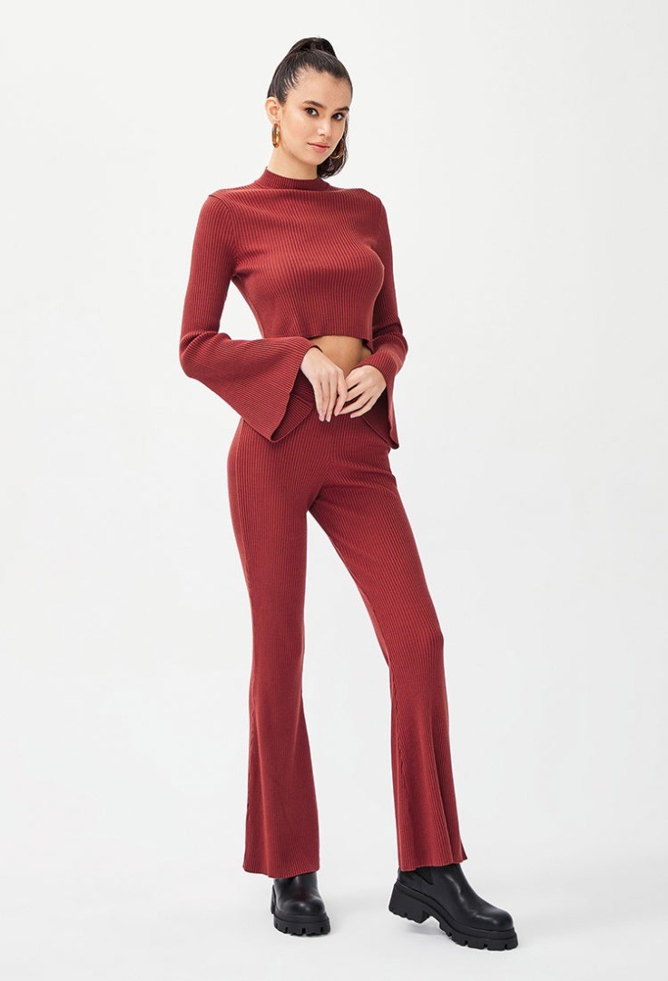 a person in a red suit