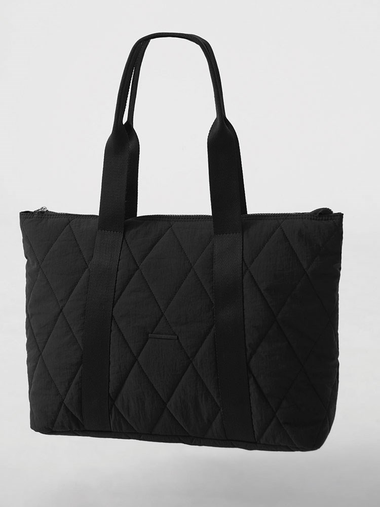 a black bag with a strap