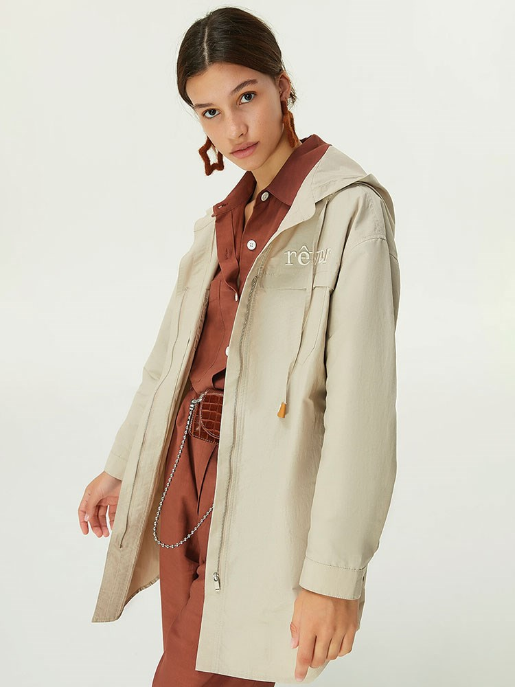 a person in a coat