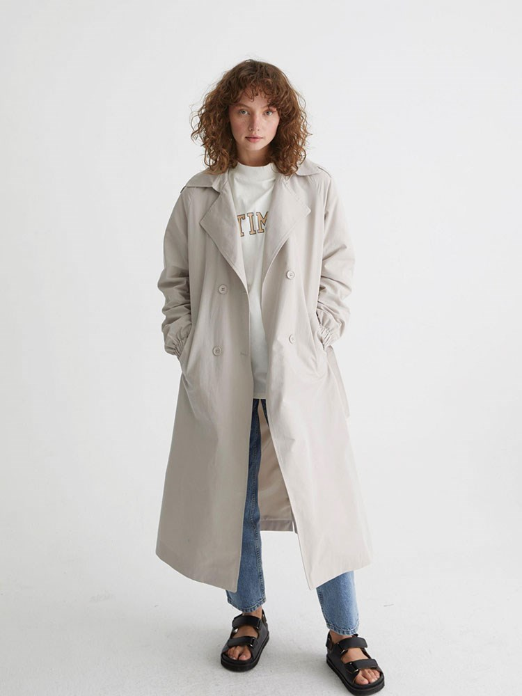 a person wearing a coat