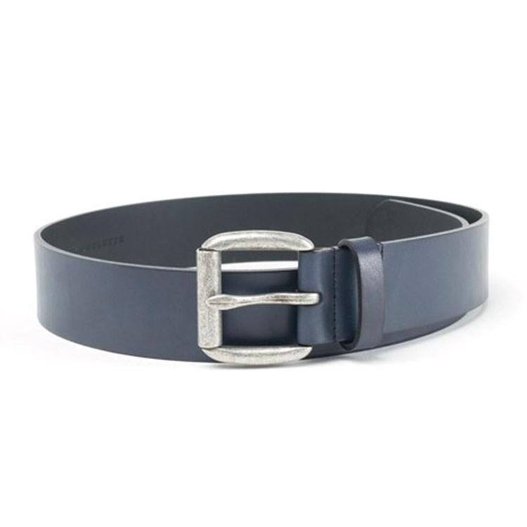 a black and silver belt