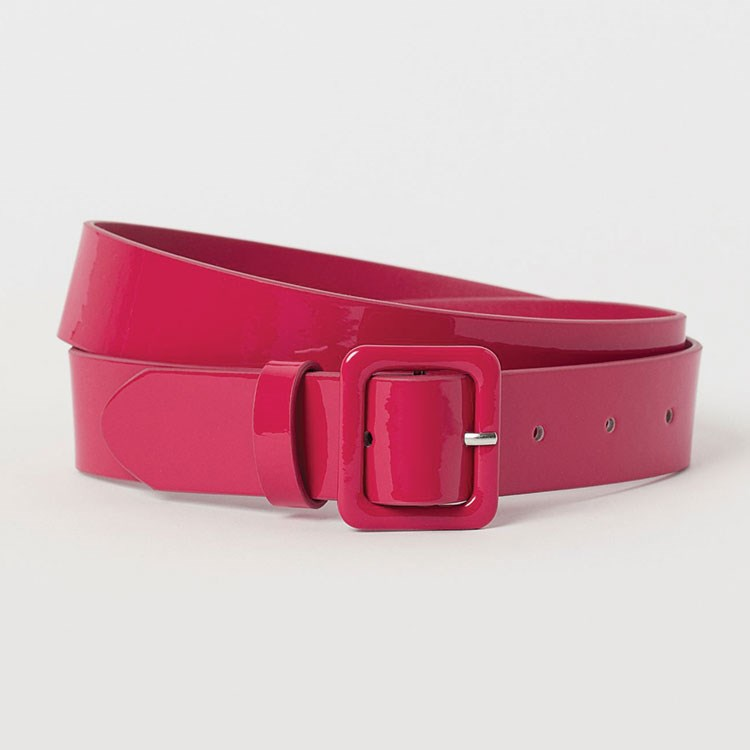 a pink and red case