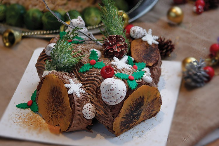 a gingerbread house with decorations