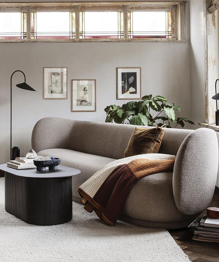 a couch in a room