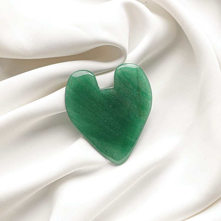 a green and white object