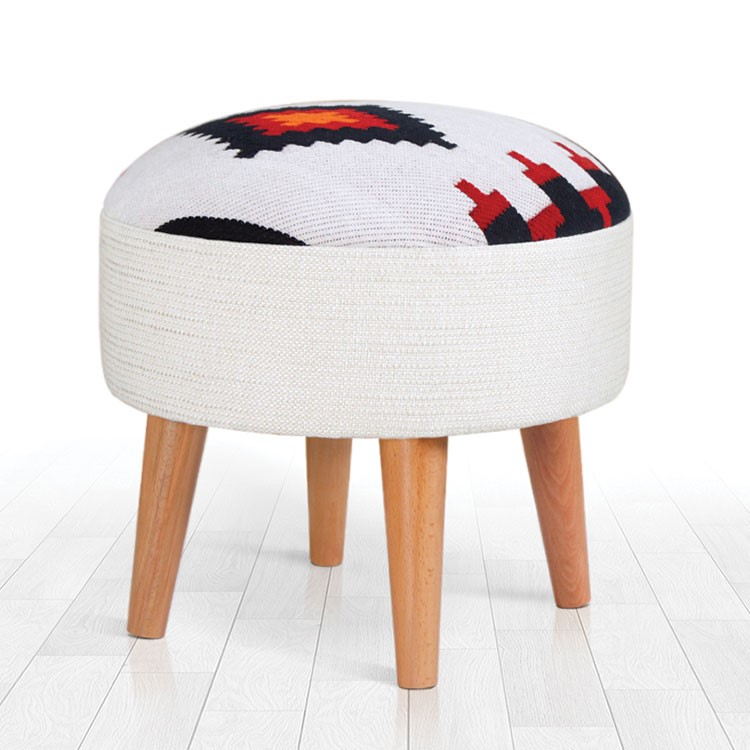 a chair with a pillow