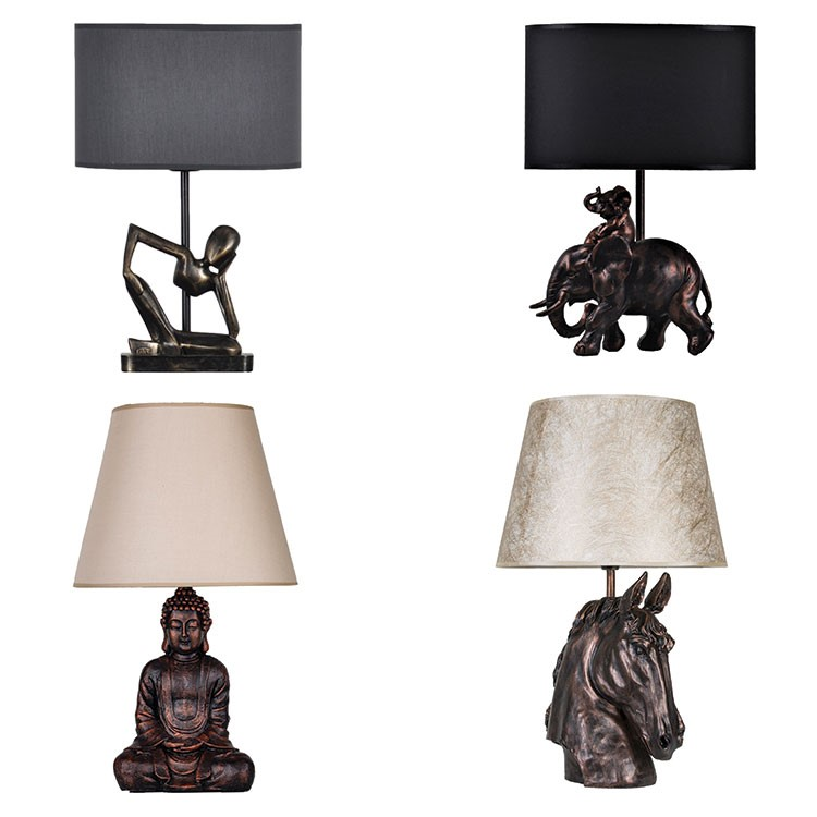a series of lamps