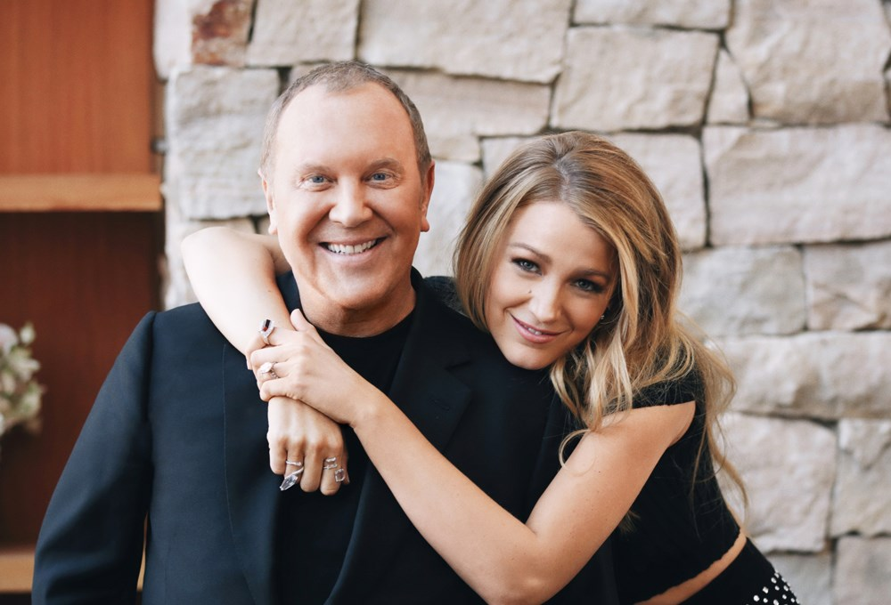 Michael Kors, Blake Lively are posing for a picture