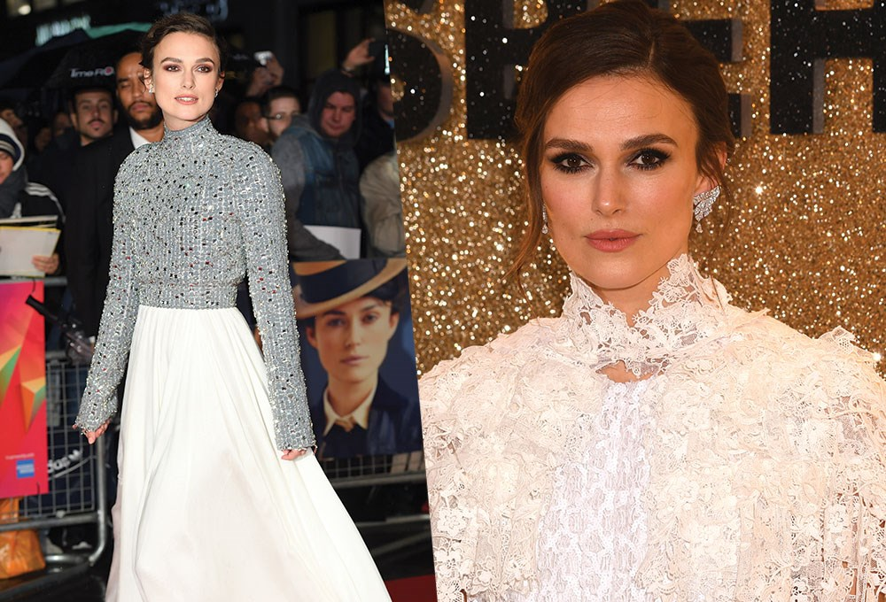 Keira Knightley, Keira Knightley et al. are posing for a picture