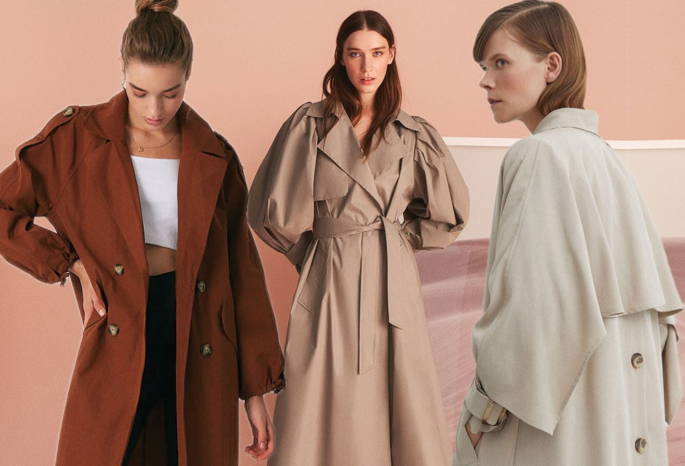 a group of women in coats
